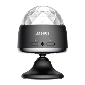 Baseus LED RGB Crystal Magic Ball Car USB Charge Auto Interior Atmosphere Light for Projector Party Lights Flash DJ Lights Home - Baseus