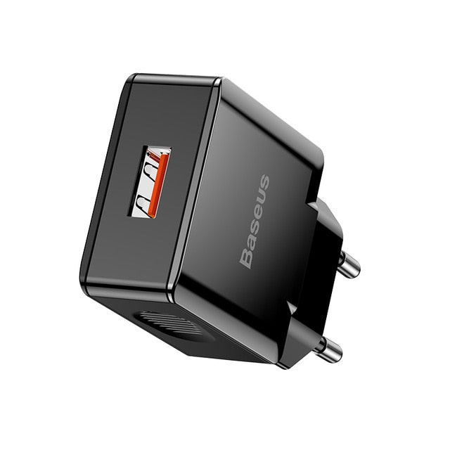 Baseus Quick Charge 3.0 USB Charger 18W - Baseus