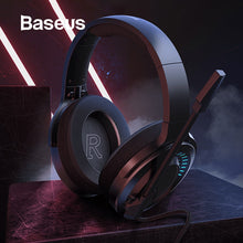 Load image into Gallery viewer, Baseus 3D Stereo Gaming Headphone USB/Type-C Colorful LED Light Wired - Baseus