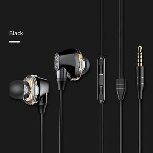 Baseus  H10 3.5MM Wired Earphone Stereo Bass Sound - Baseus