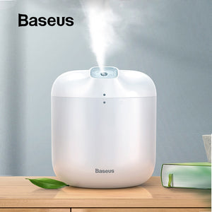 Baseus Mini Portable Air Humidifier For Office Home Air Purification Hydrating With LED Night Lamp Fogger Mist Maker  Humidifier - Baseus