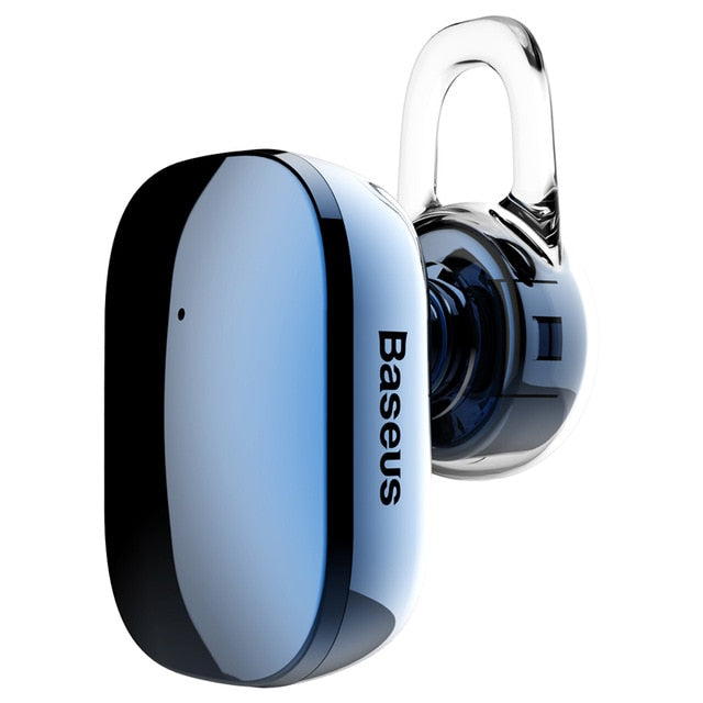 Baseus Mini Bluetooth Earphone Hands-free Wireless Bluetooth Headset Headphone with Mic 4.1 - Baseus