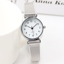 Load image into Gallery viewer, Top Brand Unique Fashion Mini Watches Simple Casual Steel Mesh Women's Watches Ladies Small Dial Watch Clock Relogio Feminino