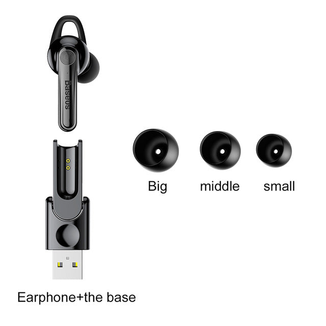 Baseus Magnetic Charging Bluetooth Earphone - Baseus
