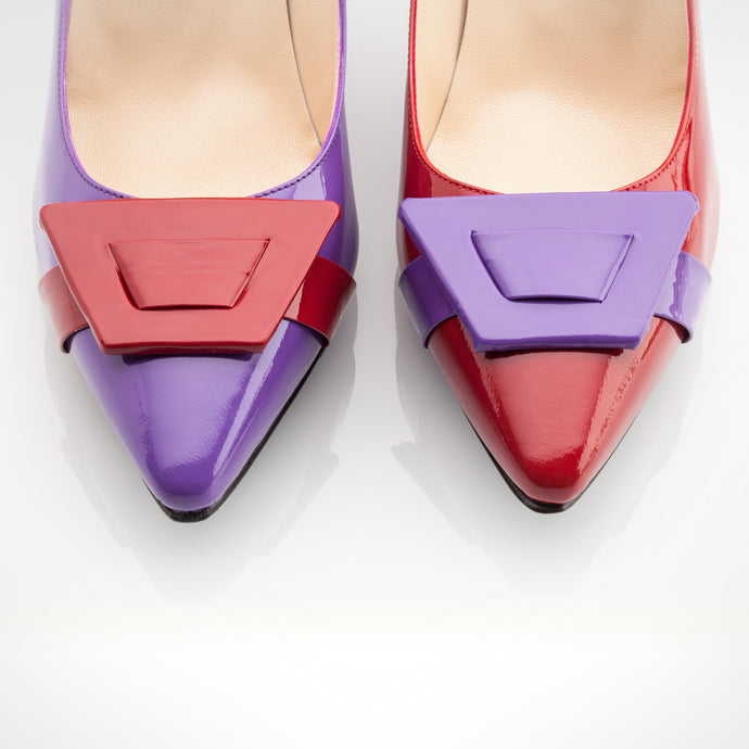 Red Purple Asymmetric Pump