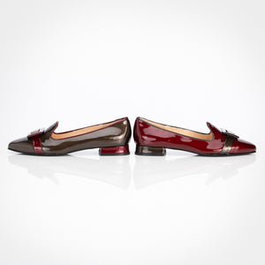Cherry Coffee Asymmetric Flat