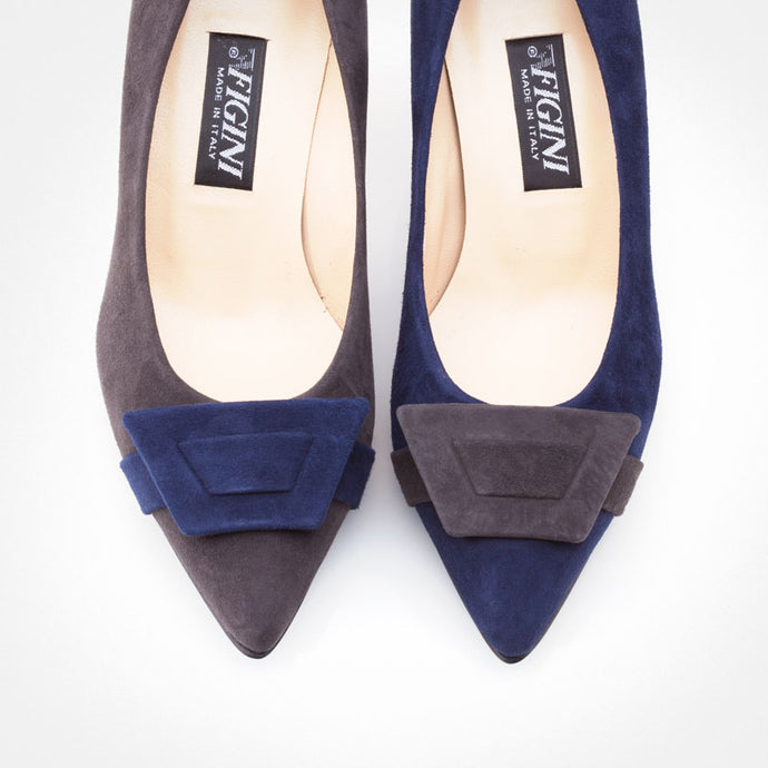 Blue Grey Asymmetric Pump