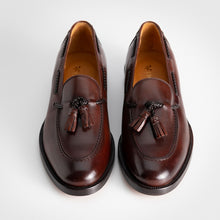 Load image into Gallery viewer, Brown Polished Binder Loafer