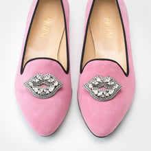 Load image into Gallery viewer, Pink Kiss Slip-on Flats