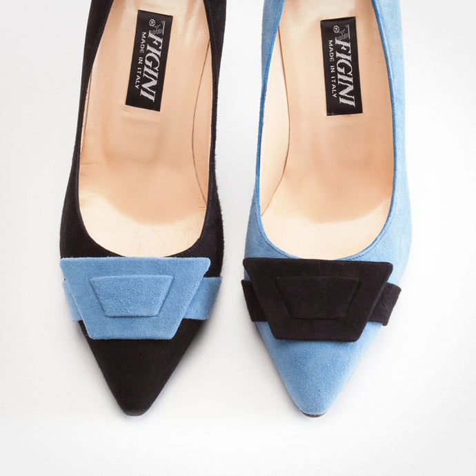 Black Light Blue Asymmetric Pump
