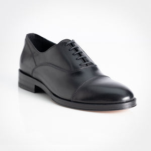 Black Classic Lace-up Oxford