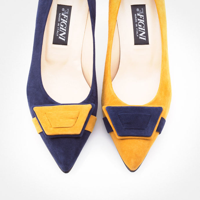 Blue Mustard Asymmetric Pump
