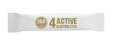 4 Active Electrolytes 10 Sticks of 3g Each Gold Nutrition