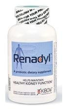 Renadyl (Formerly Named Kibow Biotics) for Kidney Health (60 Caps = One Month Supply) Brand: Kibow Biotech