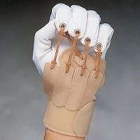 Finger/Thumb Flexion Glove, Size: Left Sm/Med