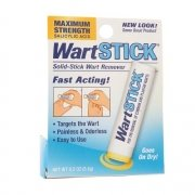 Wart Stick Maximum Strength Salicylic Acid Solid Stick Common And Plantar Wart Remover 0.2 Oz