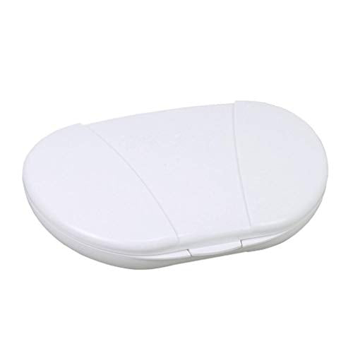Multi Day Vitacarry 8 Compartment Pill Box Holds Up To 60 Pills Actual Size: 6w X 4d X .93ì¦H (White