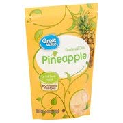 Great Value Sweetened Dried Pineapple, 6 Oz (Pack of 1)