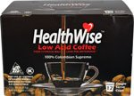 HealthWise Low Acid K Cups, 144 count, Keurig 2.0 Compatible, 12 Cartons of 12 count