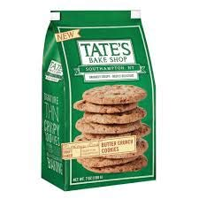 Tate's Bake Shop Butter Crunch Cookies (7oz) Bag x 2 Bags