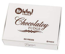 No Whey Foods- Chocolatey Fudge (6 Pieces) - Allergy Friendly and Vegan Chocolate Candy - Dairy Free, Nut Free, Peanut Free, Soy Free, Gluten Free