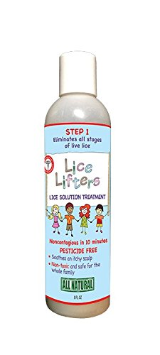 Lice Lifters Lice Solution Treatment (Natural way to control lice)