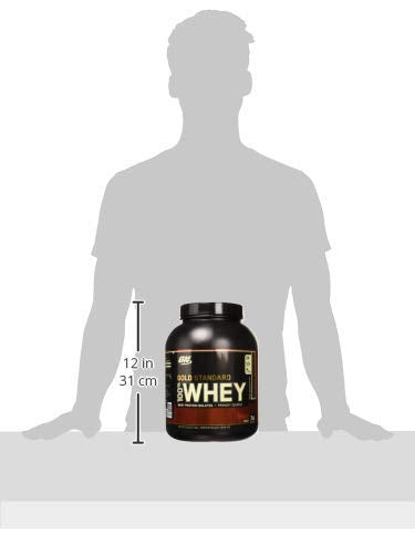 Optimum Nutrition Gold Standard 100% Whey Protein Powder, Double Rich Chocolate, 5 Pound (Packaging