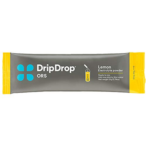 "Drip Drop Ors ã¢â€â"" Patented Electrolyte Powder For Dehydration Relief Fast   For Workout, Hangover,"