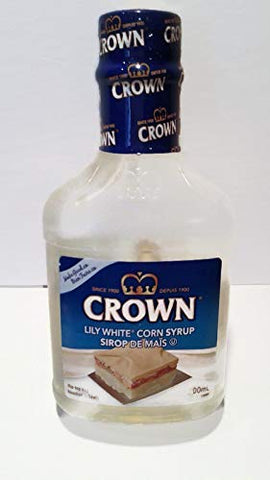 Crown White Corn Syrup, 2- 500mL/16.9 fl. oz, Bottles
