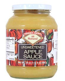 Trader Joe's Unsweetened Applesauce 24 oz (Pack of 2)