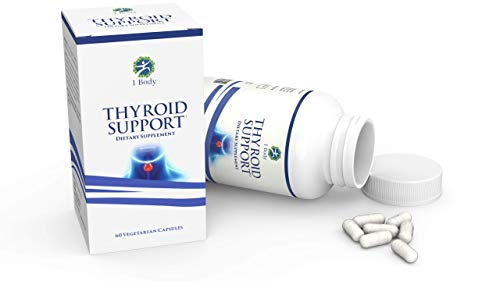 Thyroid Support Supplementã'â With Iodineã'â   Metabolism, Energy & Focus Formula   Vegetarianã'â &