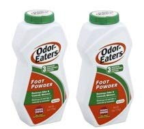 Odor Eaters 6oz Foot Powder, For Odor & Wetness (Pack of 2)