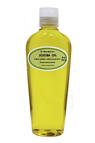 Jojoba Oil, Golden Organic 100% Pure 8 Oz