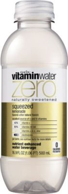 vitaminwater zero Bottles Zero Squeezed, 16.9 Ounce, Pack of 24