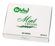No Whey Foods- Mint Creams (6 Pieces) - Allergy Friendly and Vegan Chocolate Candy - Dairy Free, Nut Free, Peanut Free, Soy Free, Gluten Free