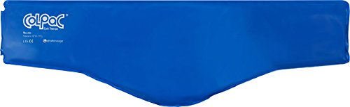 Chattanooga Col Pac   Reusable Gel Ice Pack   Blue Vinyl   Neck Contour   23 In (58 Cm)   Cold Therap