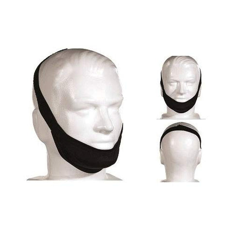 Deluxe Chinstrap III Over Ear, Black, Adjustable, X-Large