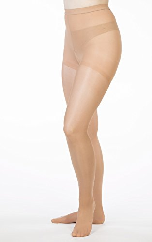 Allegro 8 15 Mm Hg Essential 83 Sheer Support Pantyhose (Nude) X Tall