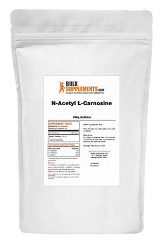Bulksupplements N-Acetyl L-Carnosine Powder (250 Grams)