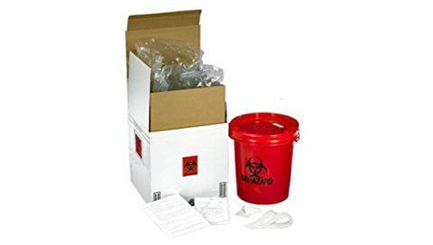 SUPPLY-122 Five Gallon Medical Waste Disposal System