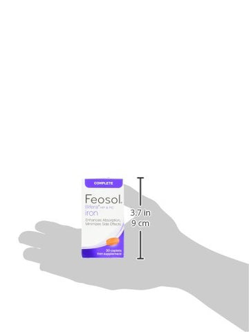 Feosol Complete with Bifera Supplements, 30 Count