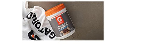 Gatorade Whey Protein Powder, Cookies & Crme, 20.0 Ounce (20 servings per canister, 20 grams of protein per serving)