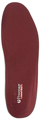 Powerstep Pinnacle Maxx Orthotic Insole Shoe Inserts Women, Workout Gear For Home Workou, Maroon, Me