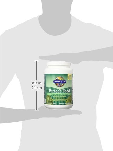 Garden Of Life Perfect Food Super Green Formula Powder, Whole Food Vegetable Superfood Plant Based J