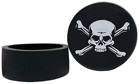 Nip Energy Dip Peach 5 Cans with DC Crafts Nation Skin Can Cover - Jolly Roger