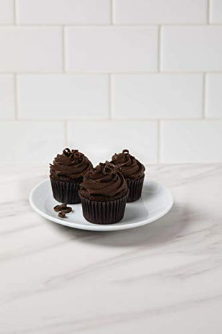 The Cheesecake Factory Blackout Mini Cupcakes 10 count (Pack of 6)