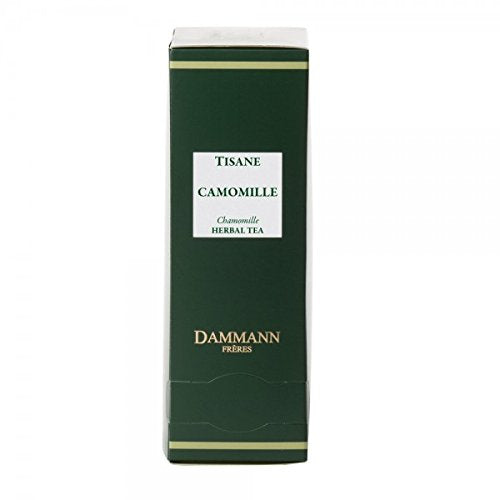 Dammann Frãƒâ¨Res   Herbal Tea Chamomile   2 X Boxes Of 24 Enveloped Cristal Sachets (48 Count / Tea