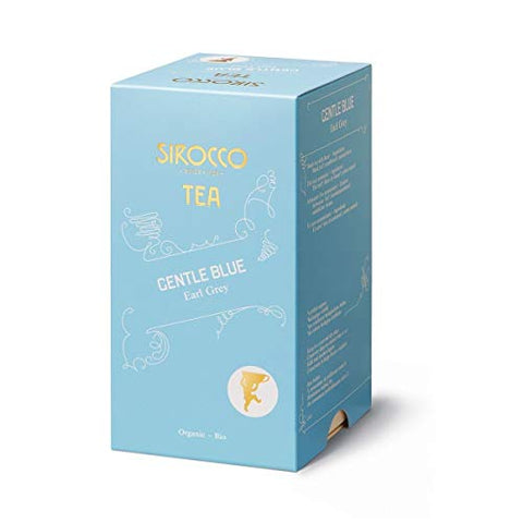 SIROCCO TEA Switzerland - GENTLE BLUE (Earl Grey) - 3 x 20 tea bags (60 count)