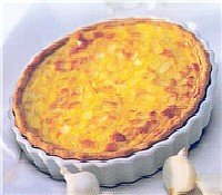 Home Style Mixed Vegetables Quiche, 20 oz