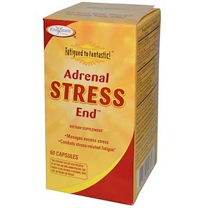 60 Capsules - Enzymatic Therapy Fatigued to Fantastic Adrenal Stress-End